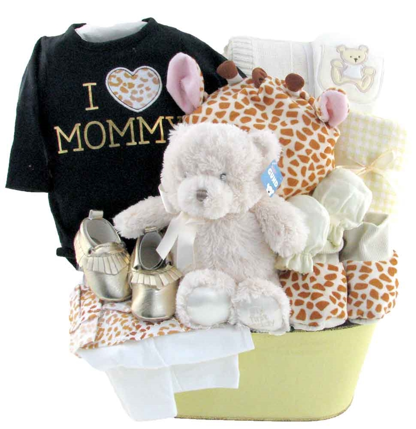 Baby Gift Baskets Calgary Alberta : Just mommy and me glitter gift baskets